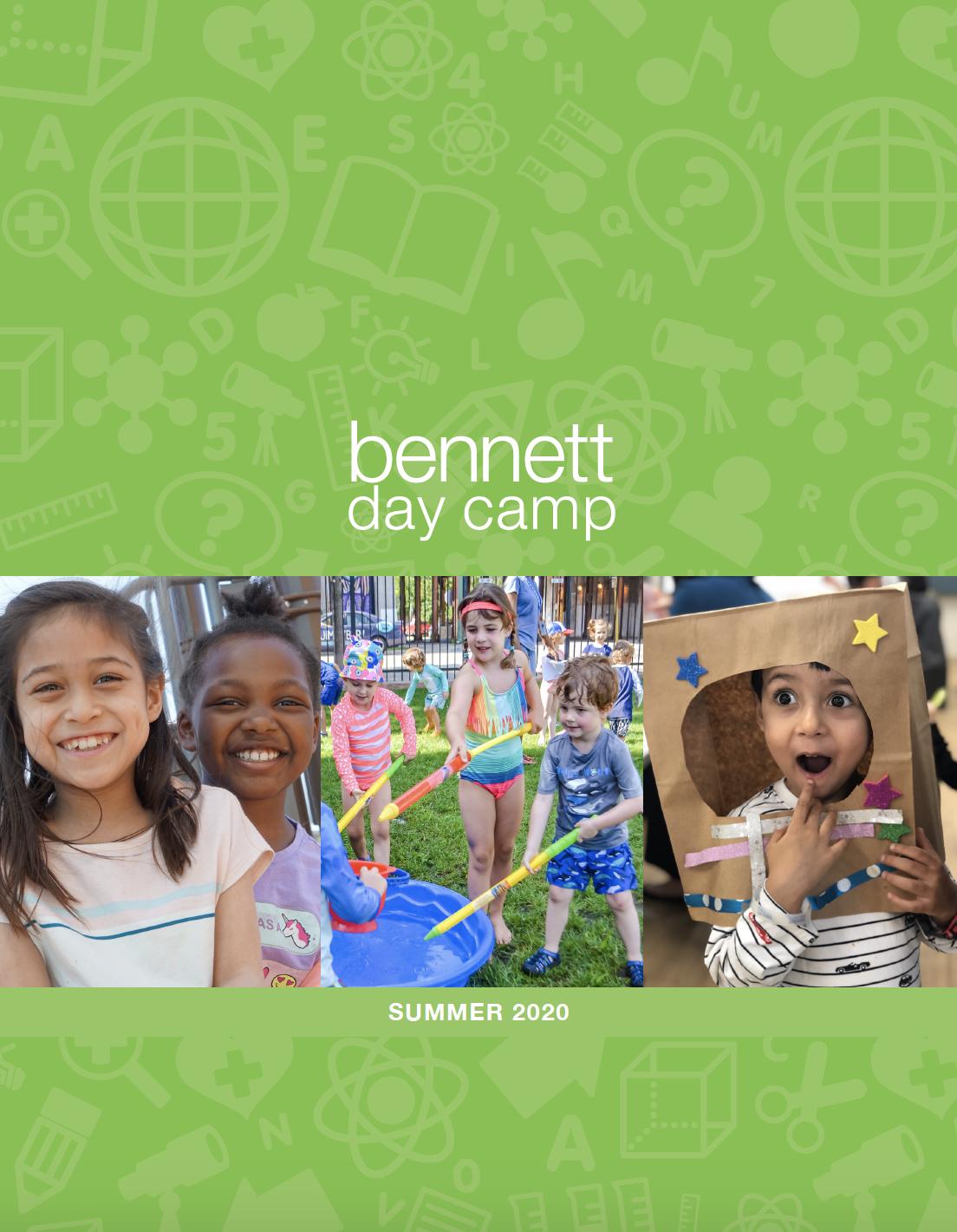 Bennett Day Camp Summer 2020 Guide